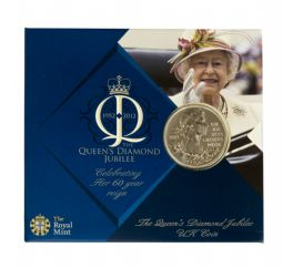 2012 £5 Royal Mint Brilliant Uncirculated pack for sale